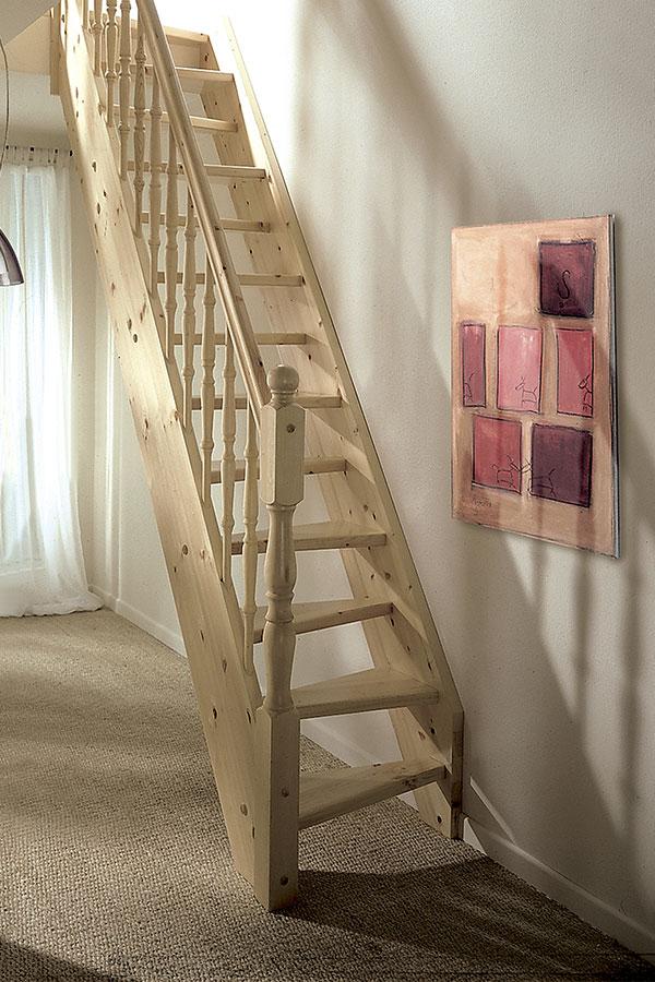 holztreppe foxtrott treppen und gel nder von holzk mpfer treppen. Black Bedroom Furniture Sets. Home Design Ideas